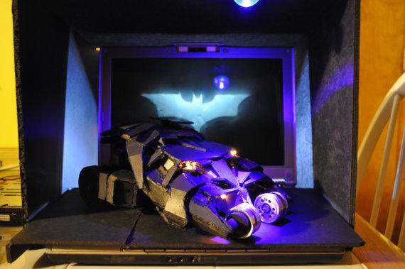 Batman Tumbler Replica Recycled PS2 by Daniel Shankalonian image 3
