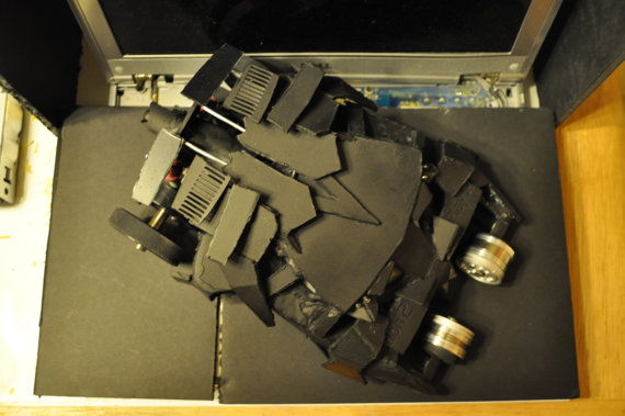 Batman Tumbler Replica Recycled PS2 by Daniel Shankalonian image 2