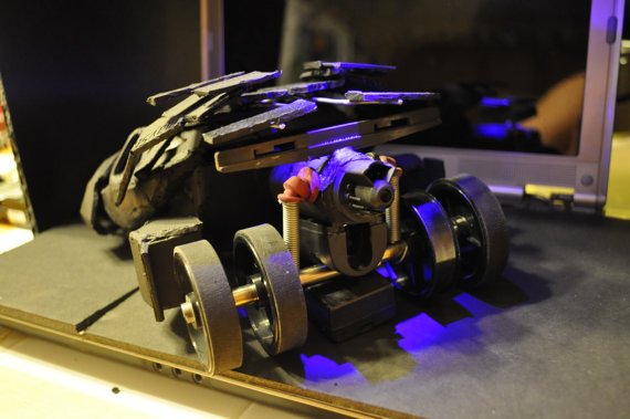 Batman Tumbler Replica Recycled PS2 by Daniel Shankalonian image 3