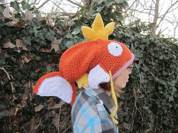 Crochet Magikarp hat