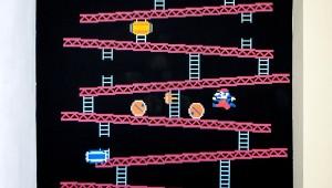 Donkey Kong Wall Decal Puts Geekiness Under The Spotlight