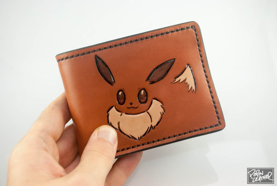 Eevee hand-made leather wallet