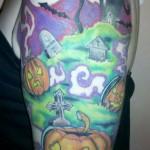 Halloween Tattoo II