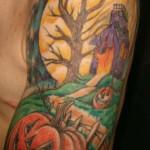 Halloween Tattoo III