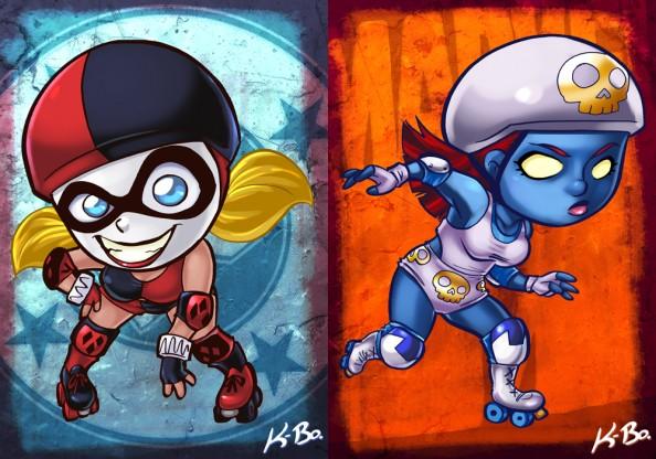 Harley Quinn vs Mystique