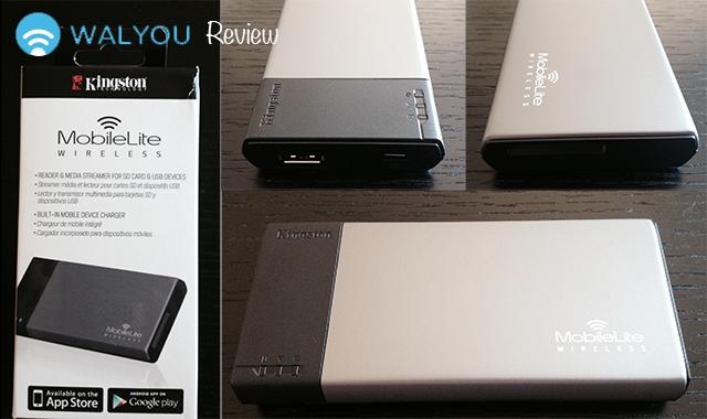 Kingston mobilelite wireless reader and media streamer