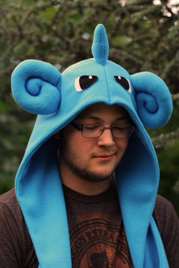 Lapras inspired scoodie