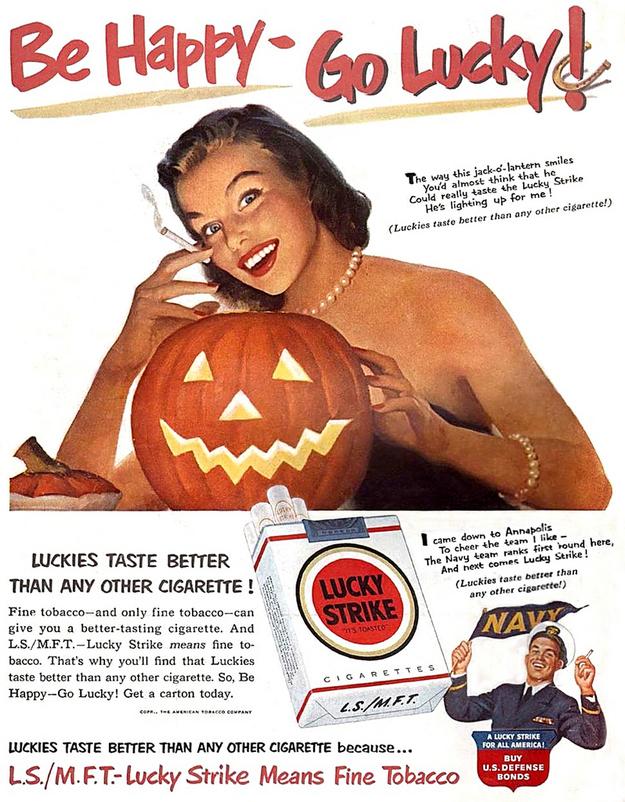 Lucky Strike Pumpkin
