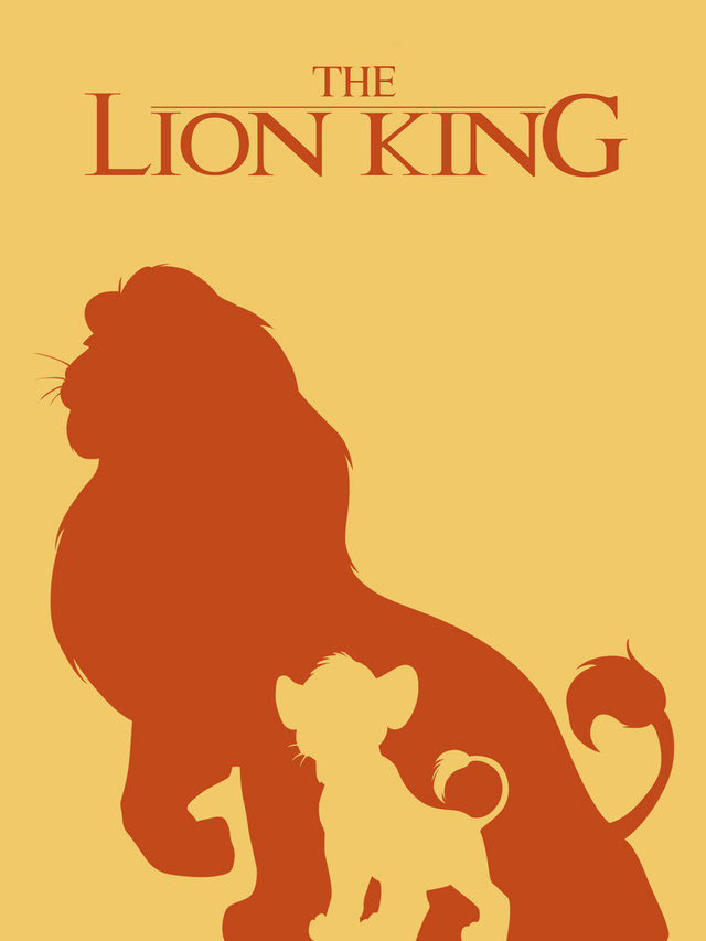 Minimalist Lion King