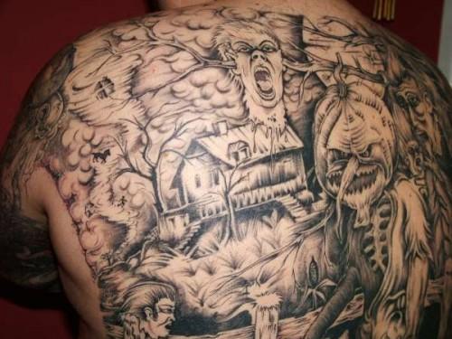 Nightmare Halloween Tattoo