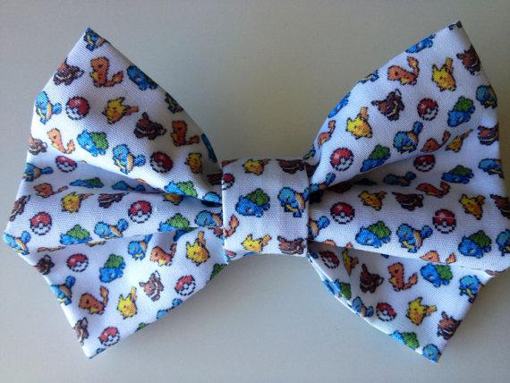 Pokémon hair bow