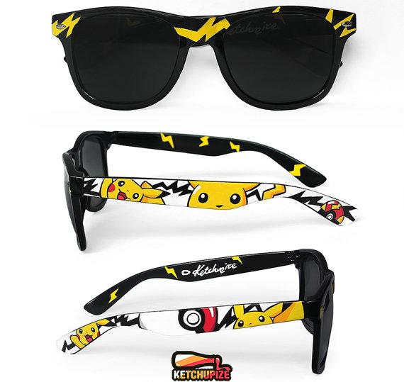 Pokémon wayfarer-style sunglasses