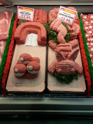 Pokemon Meat Sculpture