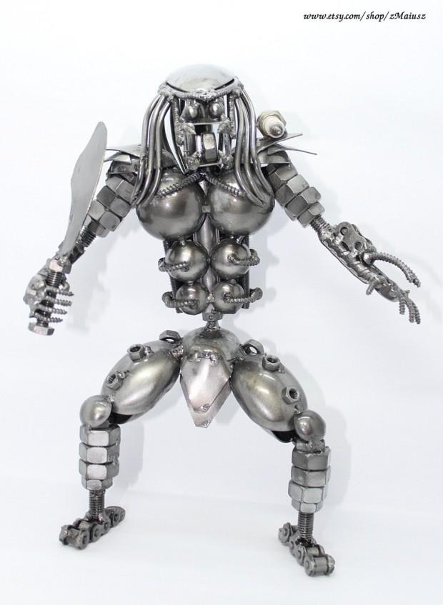 Predator Metal Sculpture 1