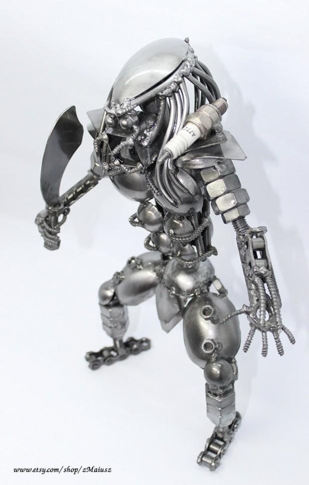 Predator Metal Sculpture 3