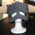Skyrim Crocheted Helmet