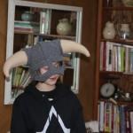Skyrim Crocheted Helmet 2