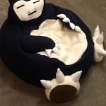 Snorlax full size bean bag chair