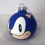 Sonic ornament by GingerPots