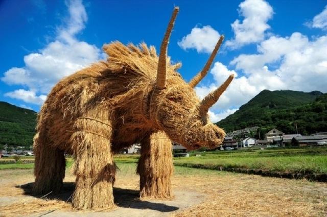 Straw Triceratops