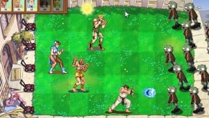 Street Fighter Versus Plants vs Zombies by NicksplosionFX image