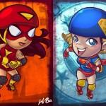 Supergirl vs Spider-Woman