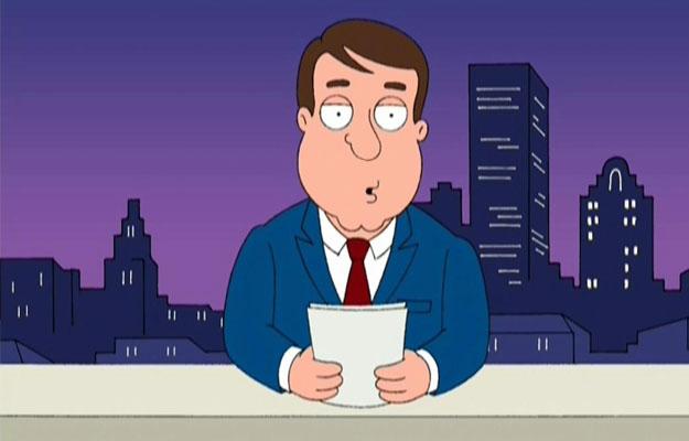 Tom Tucker from Family Guy
