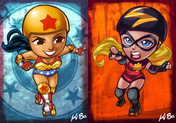 Wonder Woman vs Ms Marvel