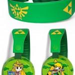 Zelda headphones by ketchupize