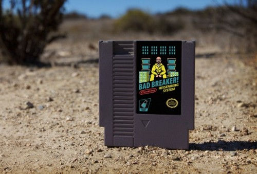 Breaking Bad NES cartridge by Drew Wise 72pins image 1