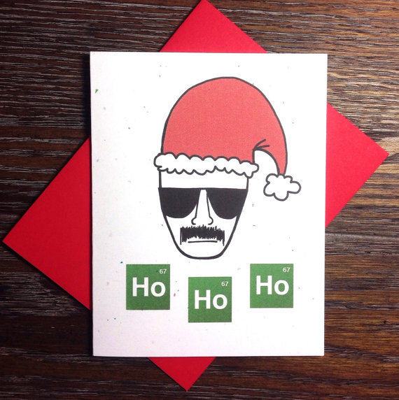 Breaking Bad Heisenberg 'Ho Ho Ho' Christmas Card