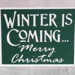 Game of Thrones 'Winter is Coming' Christmas Card