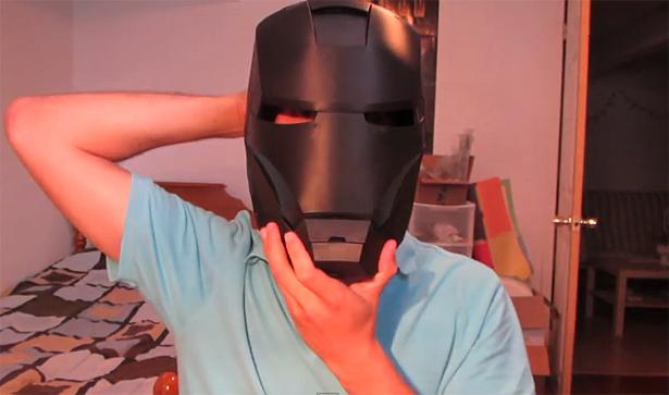 Iron Man 3d Helm 1