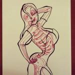 Jessica Rabbit Skeleton