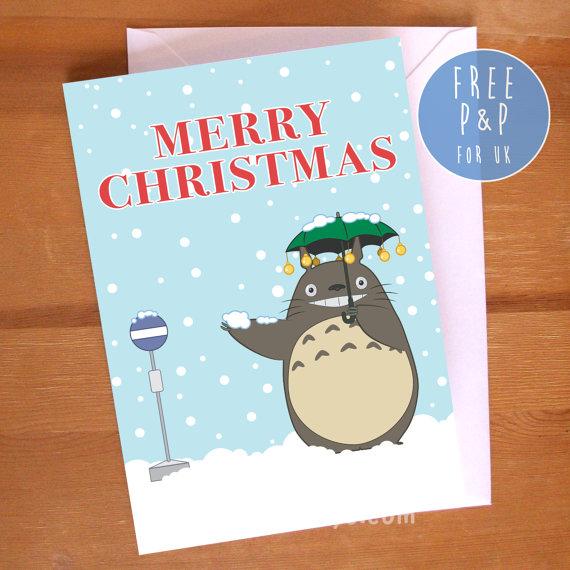 My Neighbor Totoro Merry Christmas