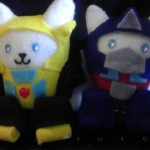 Purr-Formers Transformers Cat Plushies 2