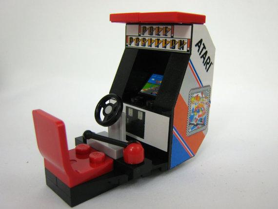 Tiny Bricks Lego 1980s Arcade Machine set image 1