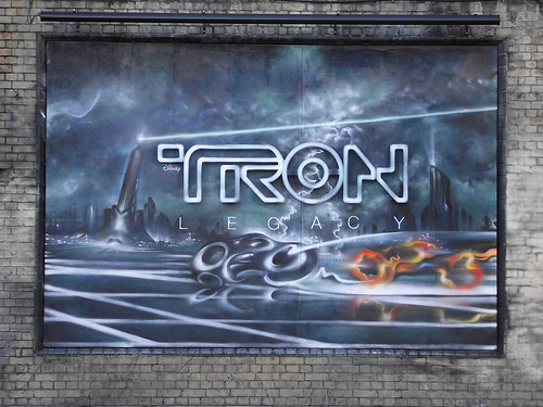 Tron Graffiti 1