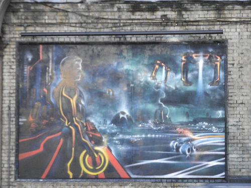 Tron Graffiti 3