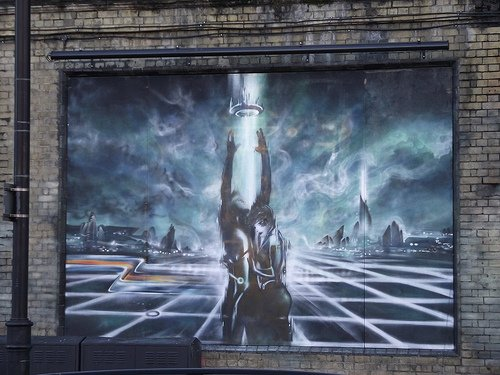 Tron Graffiti 4