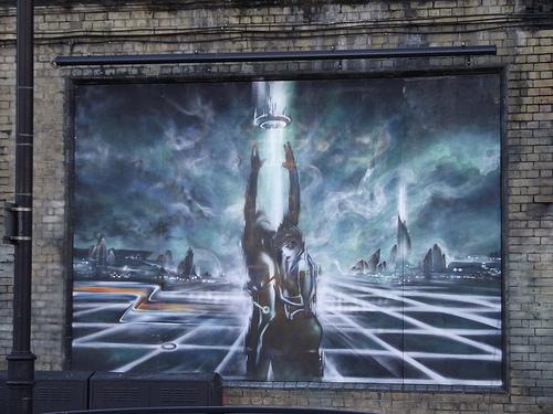 Tron Graffiti 4