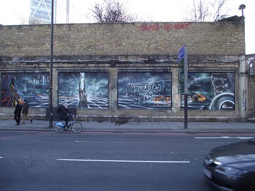 Tron Graffiti 5