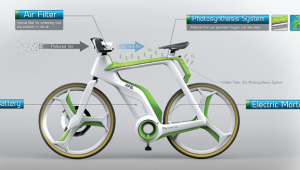Air Purifying Bike