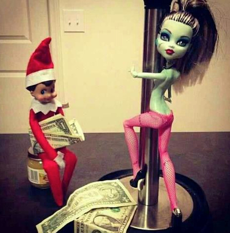 An Elf Strip Club