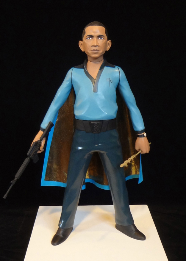 Barack Obama as Lando Calrissian
