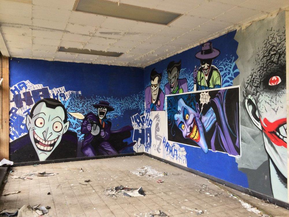Batman Street Art 1