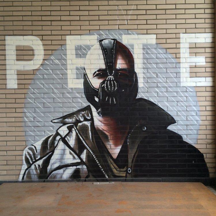Batman Street Art 3