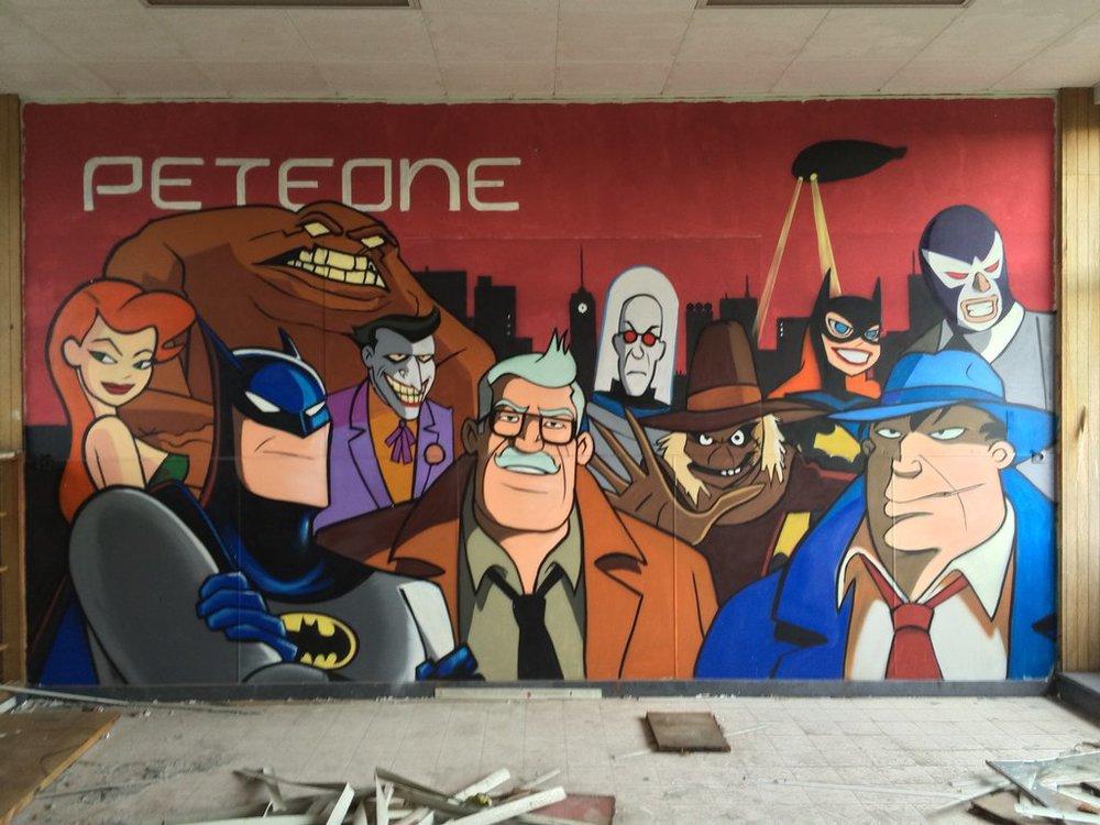 Batman Street Art 4