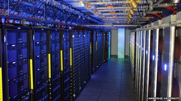 Cambridge supercomputer image