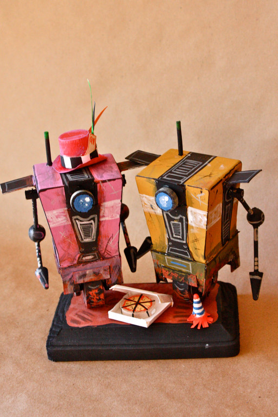 Claptrap Cake Toppers
